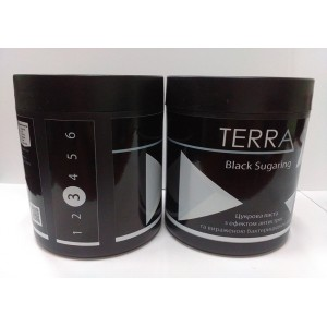 Сахарная паста TERRA black sugaring средне мягкая, 700