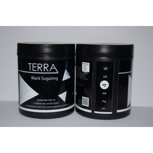 Сахарная паста TERRA black sugaring, средняя 700 г
