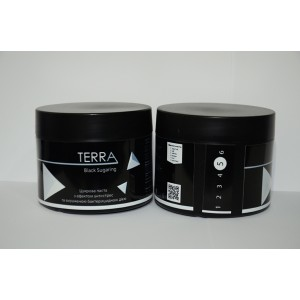 Сахарная паста TERRA black sugaring, плотная 400 г