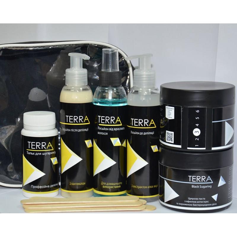Набор для домашнего шугаринга TERRA Black