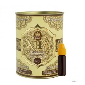 Хна Grand Henna коричневая для бровей и био тату, 120 г