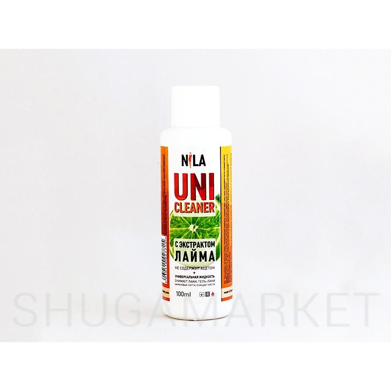 Nila Cleanser, средство для снятия липкого слоя  Лайм,   100мл
