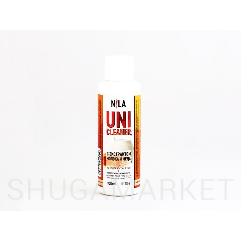 Nila Cleanser, средство для снятия липкого слоя  Молоко и мед, 100 мл