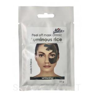 Альгинатная маска осветляющая ТМ MILA Белый Рис, 25 г