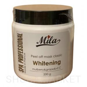 Маска альгинатная отбеливающая MILA c камнеломкой и витамин C, 200 г
