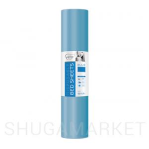 Одноразовые простыни в рулоне ETTO СМС 0,6x200 м, голубые