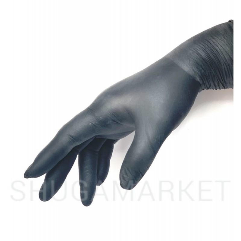 Перчатки нитриловые Nitrylex PF Black, 2 шт.