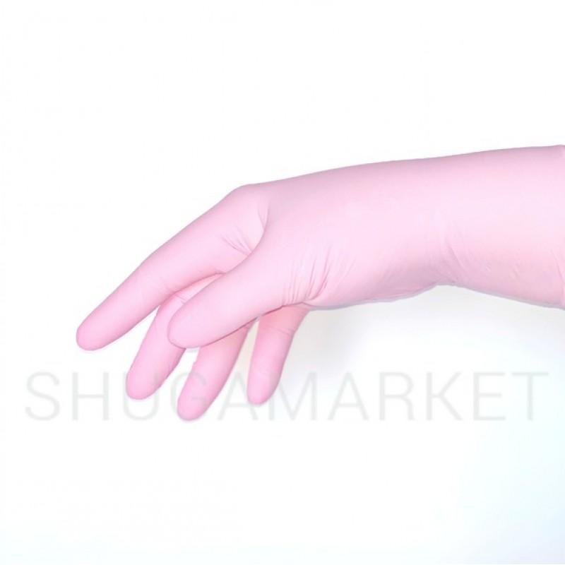 Перчатки нитриловые Nitrylex PF Collagen, 2 шт.
