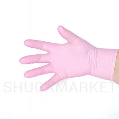 Перчатки нитриловые Nitrylex PF Collagen, 100шт.