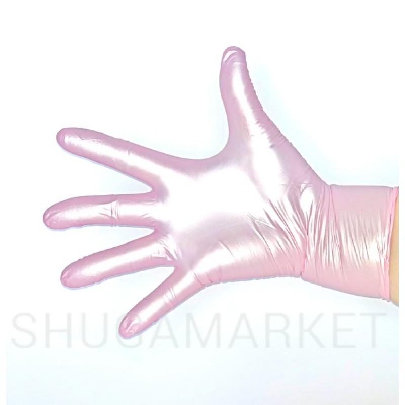 Перчатки нитриловые  Prestige Medical перламутровые, 100 шт