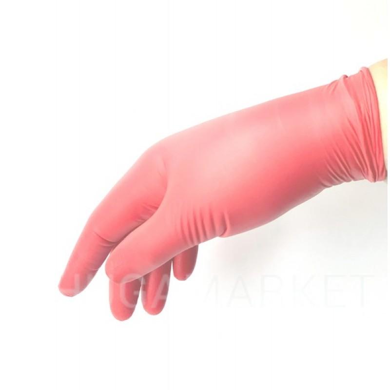 Перчатки нитриловые Style red, 2 шт