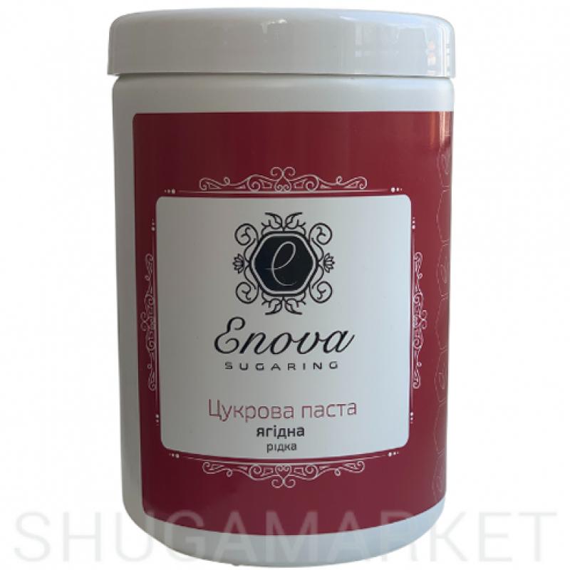 Сахарная паста Еnova жидкая (ягодная), 1400 г