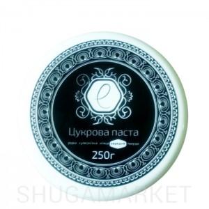 Сахарная паста ENOVA BLACK средняя (с ароматом шоколада), 250 г