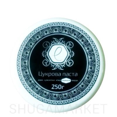 Enova Сахарная паста black средняя (с ароматом шоколада), 250 г