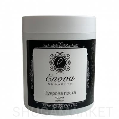 Enova Сахарная паста BLACK средняя (с ароматом шоколада), 700 г