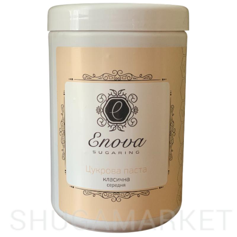 Сахарная паста ENOVA классическая, средняя 1400 мл