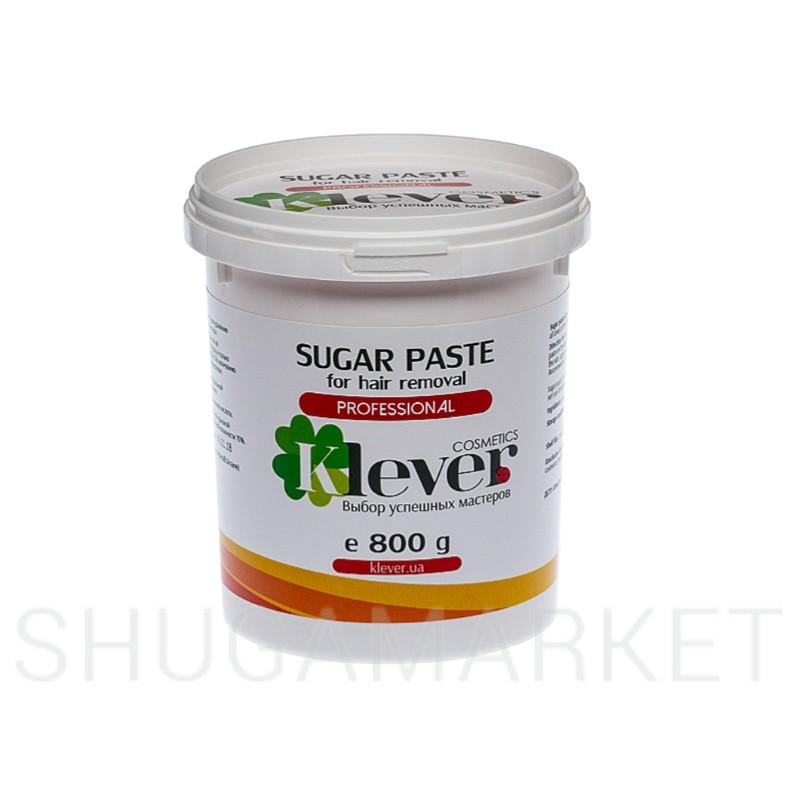 Сахарная паста Klever cosmetics №5 Strong (плотная), 800 г