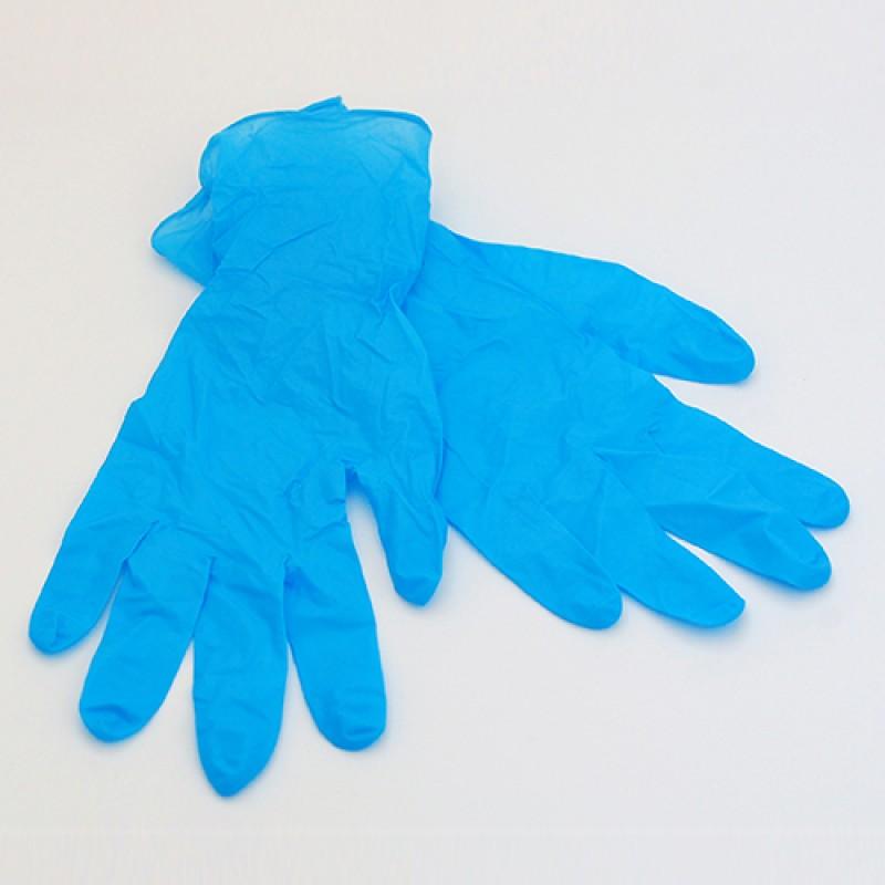 Нитриловые перчатки для депиляции, размер S (1 пара)