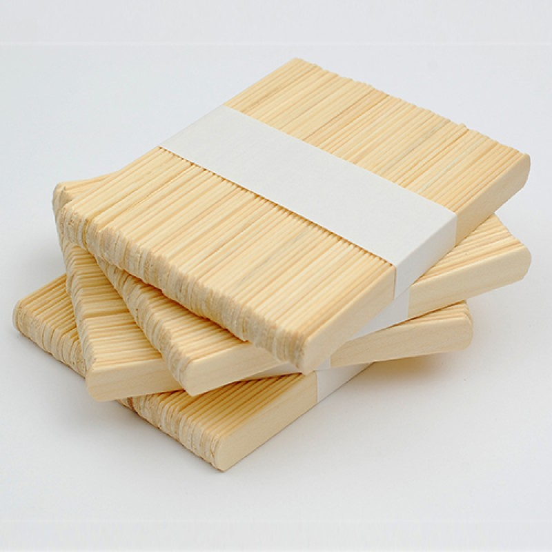 Шпатель одноразовый (деревянный) для депиляции, 50 шт.