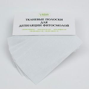 Тканевые полоски для депиляции фитосмолой, 50 шт