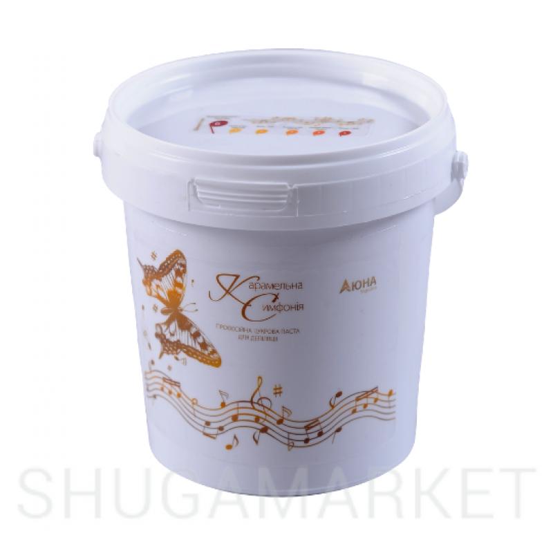 Сахарная паста для шугаринга Карамельная Симфония высокой плотности, 1200 г