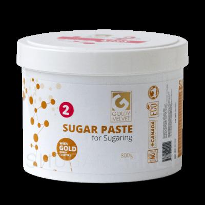 Сахарная паста Goldy VELVET №2 Kiss, мягкая, 800 г