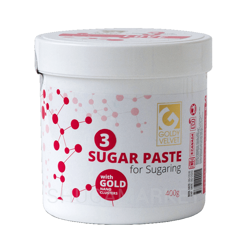 Сахарная паста Goldy VELVET №3 Love, средняя, 400 г