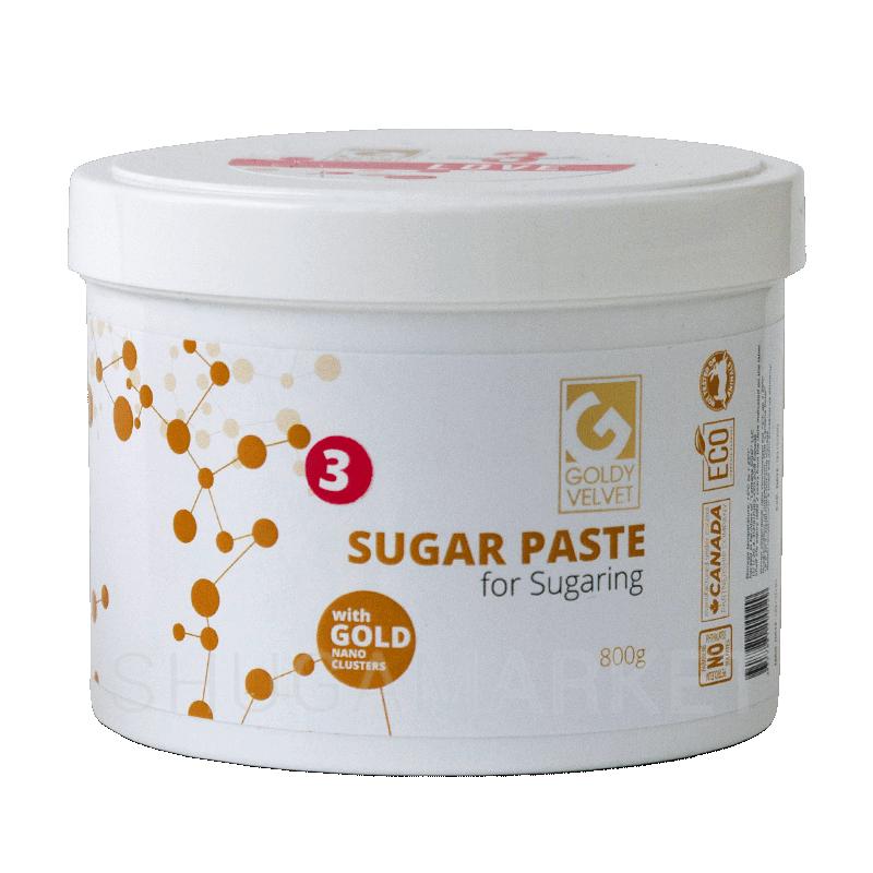 Сахарная паста Goldy VELVET №3 Love, средняя, 800 г