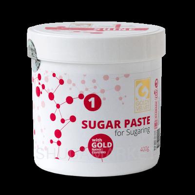 Сахарная паста Goldy VELVET №1 Shine, ультрамягкая, 400 г