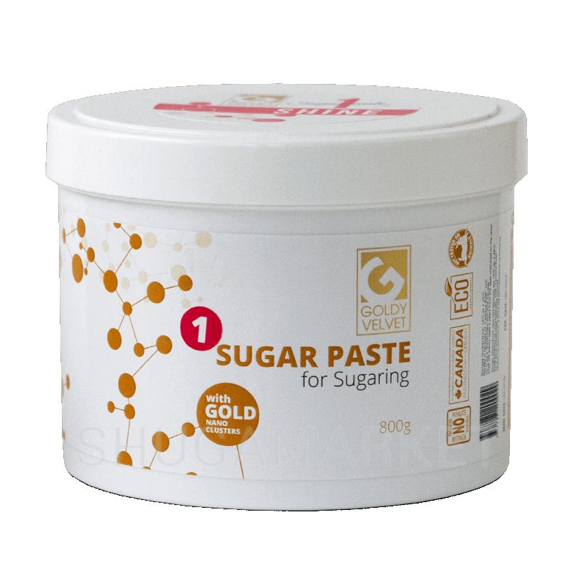 Сахарная паста Goldy VELVET №1 Shine, ультрамягкая, 800 г