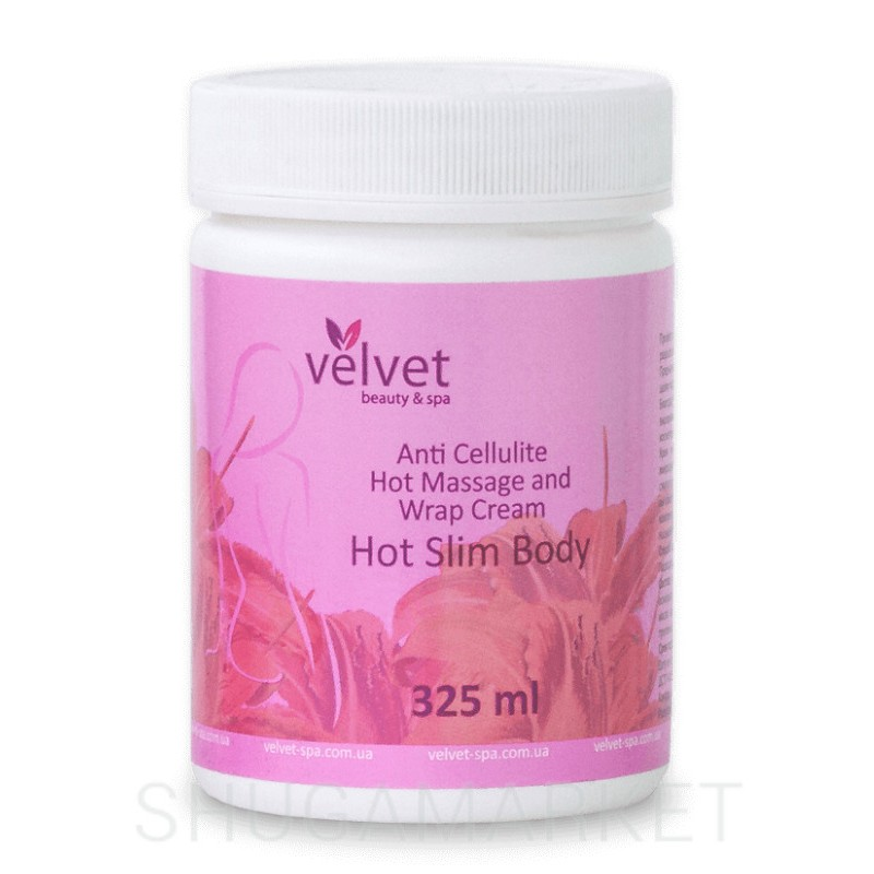 Крем антицеллюлитный согревающий HOT SLIM BODY Velvet, 325 мл