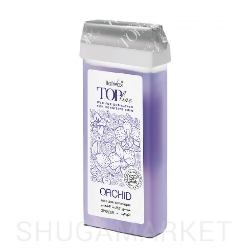 Гибридный теплый воск Орхидея Top Line ItalWax, 100 мл