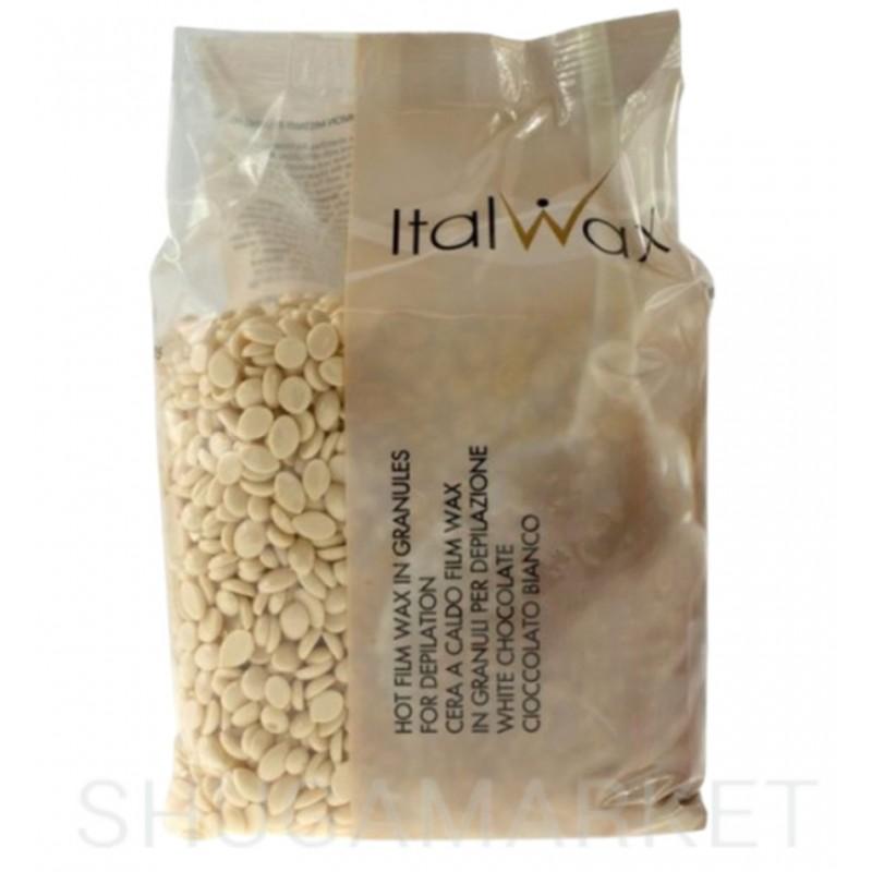 Горячий воск для депиляции ItalWax Белый шоколад в гранулах, 500 г