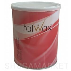 Тёплый воск для депиляции ItalWax Flex Роза, 800 г