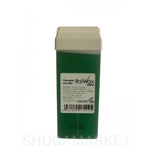 Воск в кассете ItalWax Хлорофил, 100 г