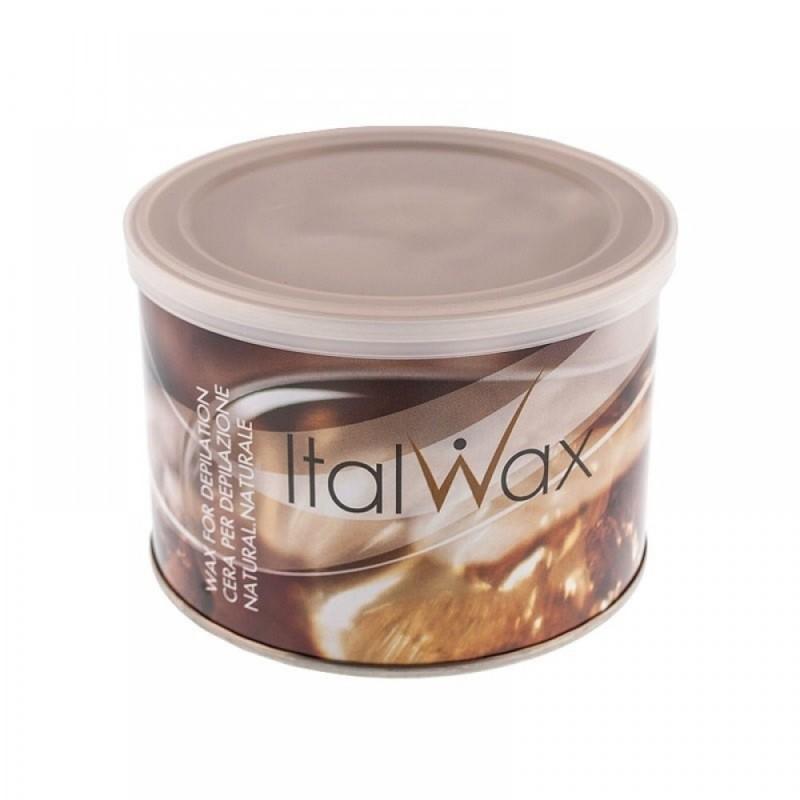 Тёплый воск для депиляции ItalWax натуральный, 400 г